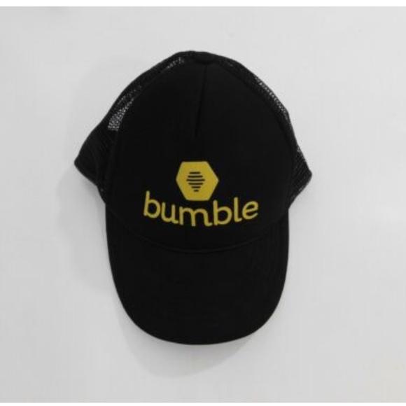 1128ac1c8 Bumble Social Dating App Foam Mesh Trucker Cap Hat